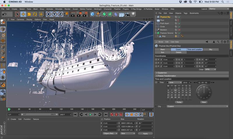 VFX Software we Rent