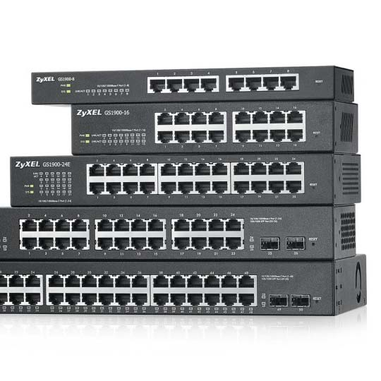 Zyxel Switches, Access Points, and Routers